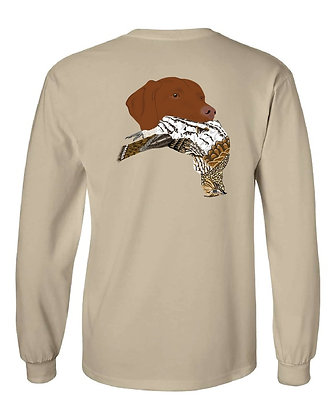 Wisconsin Vizsla/Grouse T-Shirt
