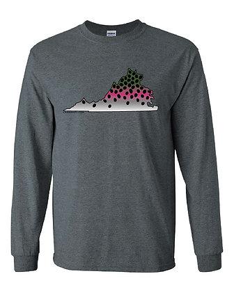 Virginia Rainbow Trout Skin T-Shirt