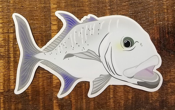 Giant Trevally Sticker Decal