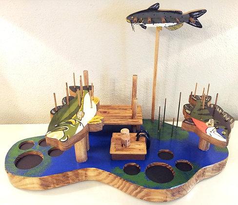The Farm Pond Fly-Tying Desk