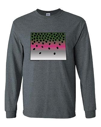 Colorado Rainbow Trout Skin T-Shirt