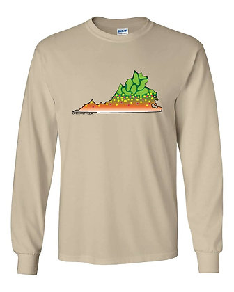 Brook Trout State Skin T-Shirts