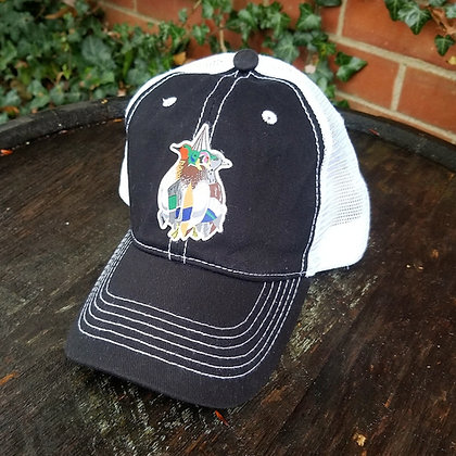Mixed Bag Ducks Black Trucker Hat