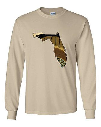 Florida Turkey Pattern T-Shirt