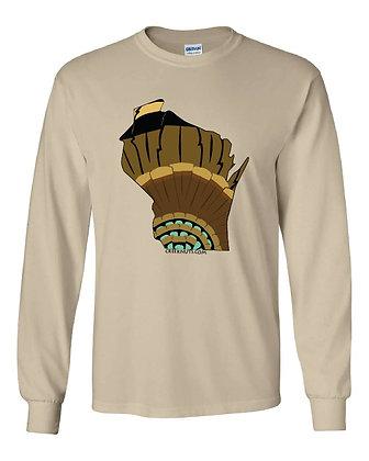 Wisconsin Turkey Pattern T-Shirt