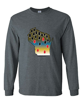 Wisconsin Brown Trout Skin T-Shirt