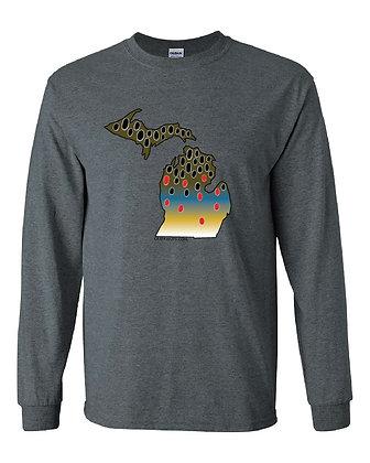 Michigan Brown Trout Skin T-Shirt
