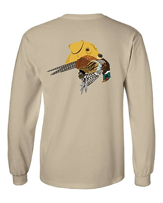 Pennsylvania Yellow Lab/Pheasant T-Shirt