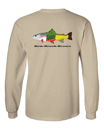 Bow-Brook-Brown T-Shirt