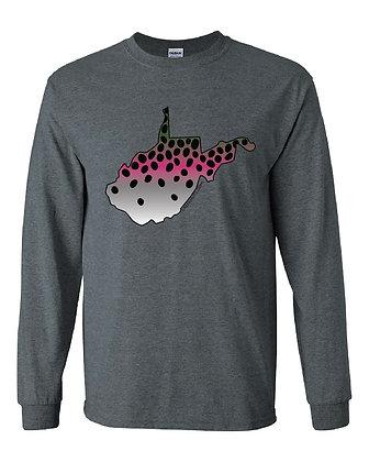 West Virginia Rainbow Trout Skin T-Shirt