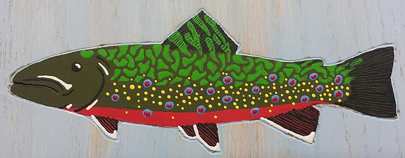 Painted Brook Trout