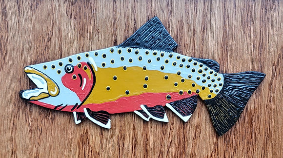 Hand-Painted Cutthroat Trout