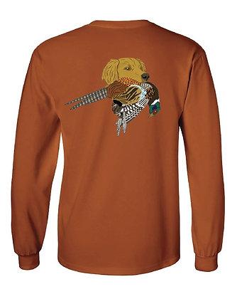 Golden Retriever Pheasant T-Shirts