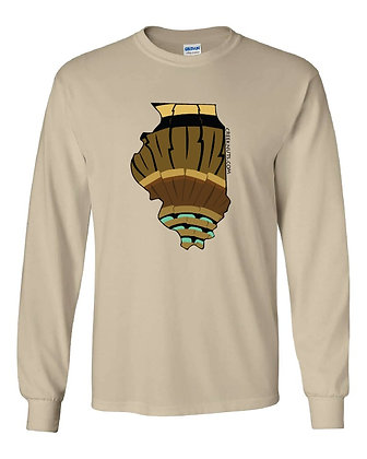 Illinois Turkey Pattern T-Shirt