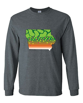 Iowa Brook Trout Skin T-Shirt