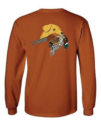 Yellow Lab Pheasant T-Shirts