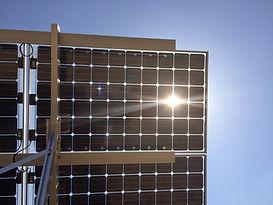 両面受光 ソーラー 太陽電池
