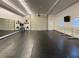 Studio A. 900 square feet dance studio