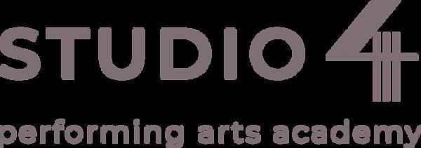 Studio 444 horizontal deep purple logo