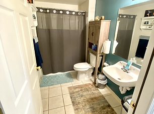 Bathroom A with shower