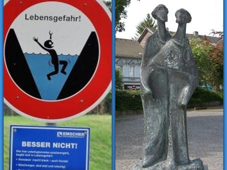 VI. ACHTUNG LEBENSGEFAHR - Oder: Der schwarze Ewald, der weiße Ewald und die Emscher..