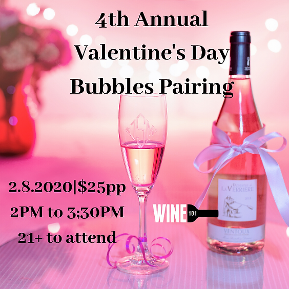 SOLD OUT Bubbles for Valentine's Day