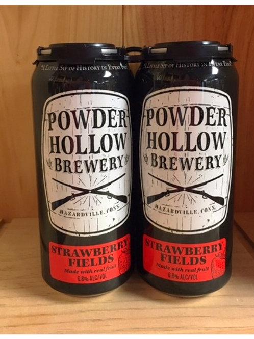 Powder Hollow Strawberry Fields 4pk