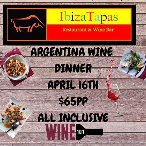 Argentina Wine Dinner