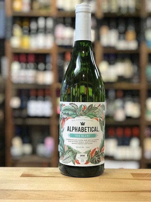 Alphabetical Vin Blanc