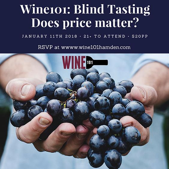 Wine101: Blind Tasting