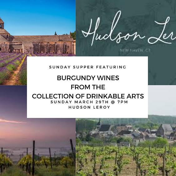 Sunday Supper in Burgundy