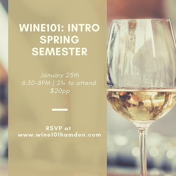 Wine101: Intro to Wine Tasting