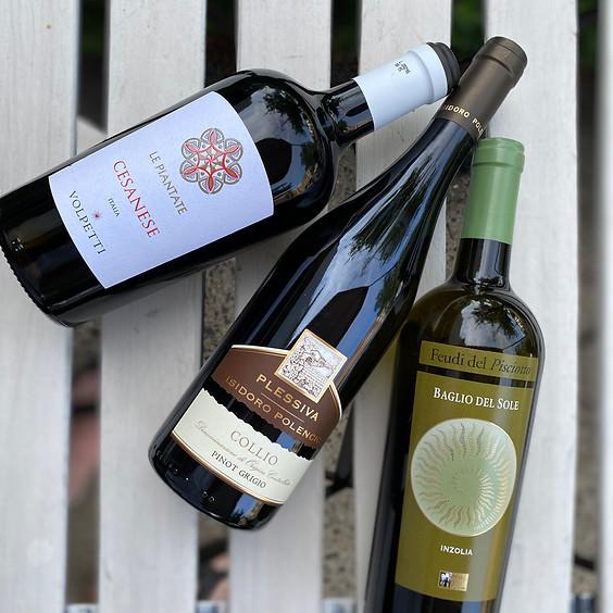 Free Tasting Fridays: New Italain Wines