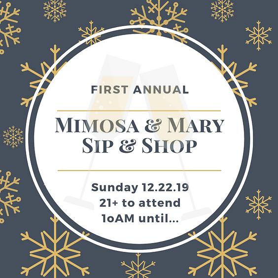 Sunday Sip & Shop