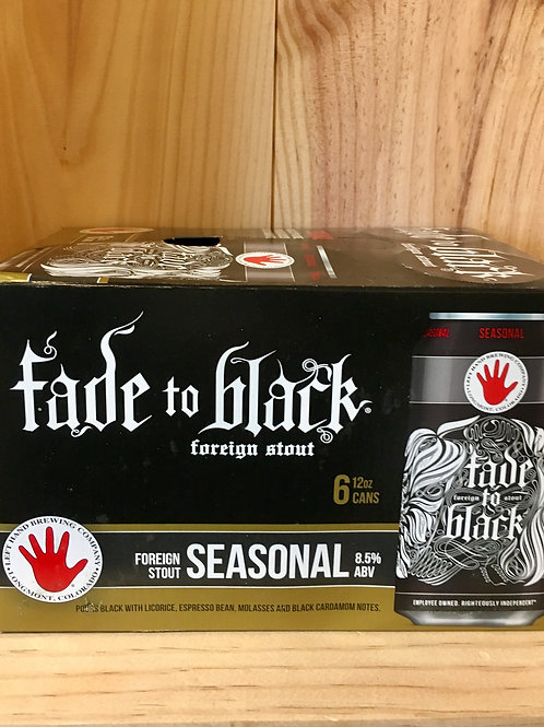 Left Hand Brewing Fade to Black 6pk