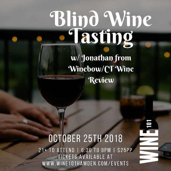 Blind Wine Tasting 101