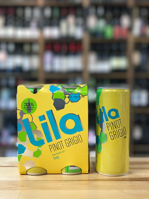 Lila 4pack Pinot Grigio