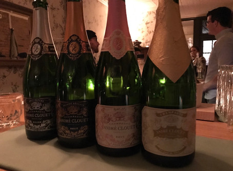 Andre Clouet Tasting