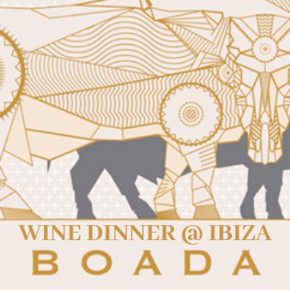Boada Wine Dinner