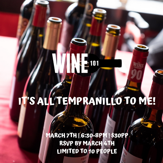 It's All Tempranillo To Me (1)