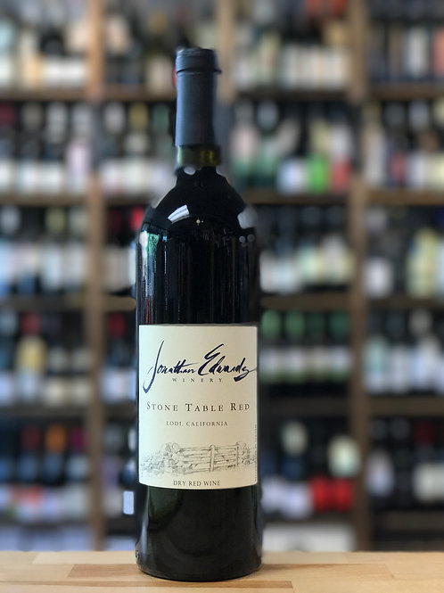 Jonathan Edwards Winery Stone Table Red