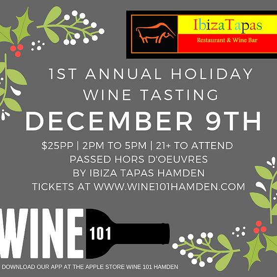 Holiday Wine Tasting Soiree