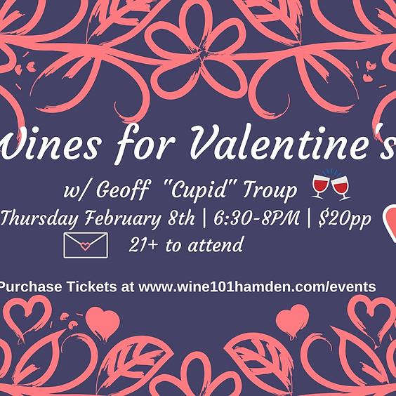 Wine101: Wines For Valentine's