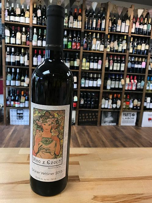Vino z Czech Grüner Vetliner