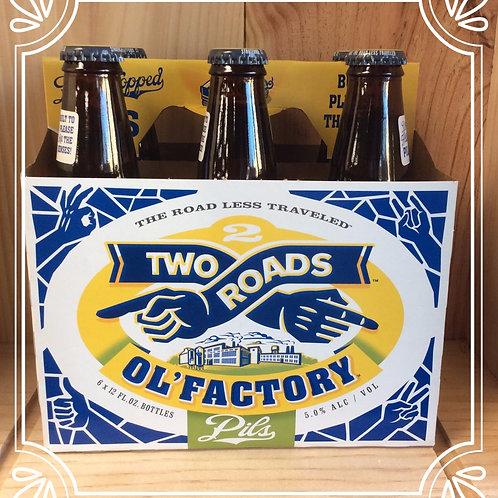 Two Roads Ol' Factory Pils 6pk