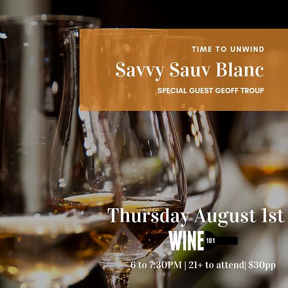 Savvy Sauv Blanc w/ Geoff