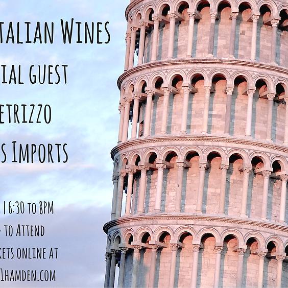 Wine201: Italian Wines/Vias Imports