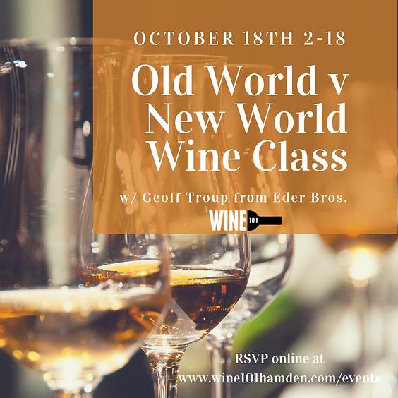 New World v Old World Wines