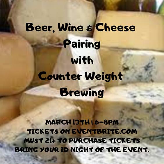 Beer, Wine & Cheese Pairings: Round 3