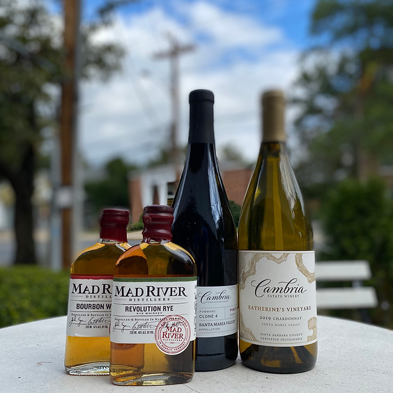 Free Tasting Fridays: Cambria Wines  & Mad River Distillery